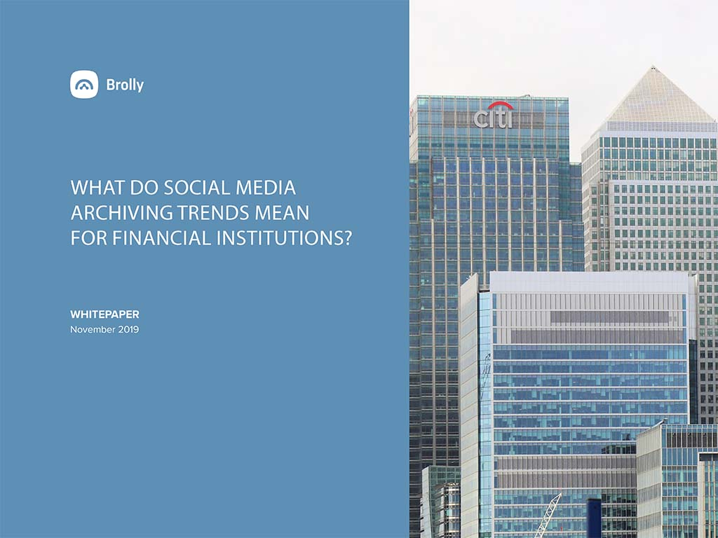 Thumbnail Brolly white paper - finance sector